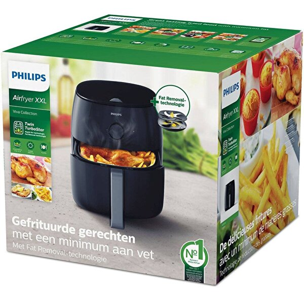 Philips HD9630/90 2225W Viva Collection Airfryer XXL Fritöz