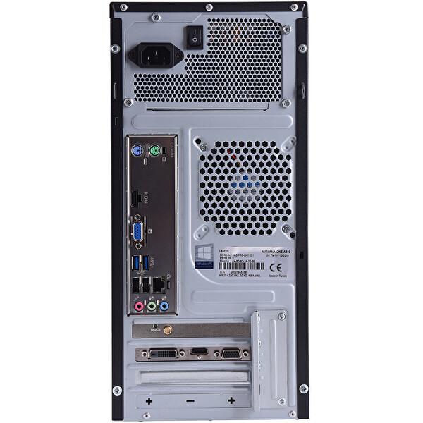 Casper Nirvana  N2H Intel Core Pentium inç 4 GB RAM 240 GB SSD  Siyah Desktop