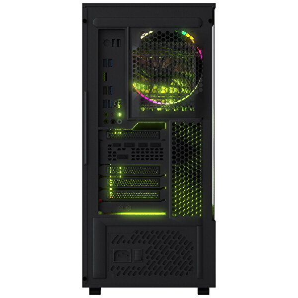 Casper Excalibur E600 Intel Core i7-10700K 16 GB RAM 1 TB HDD+ 240 GB SSD RTX 2070 8 GB Win 10 Home Siyah Desktop