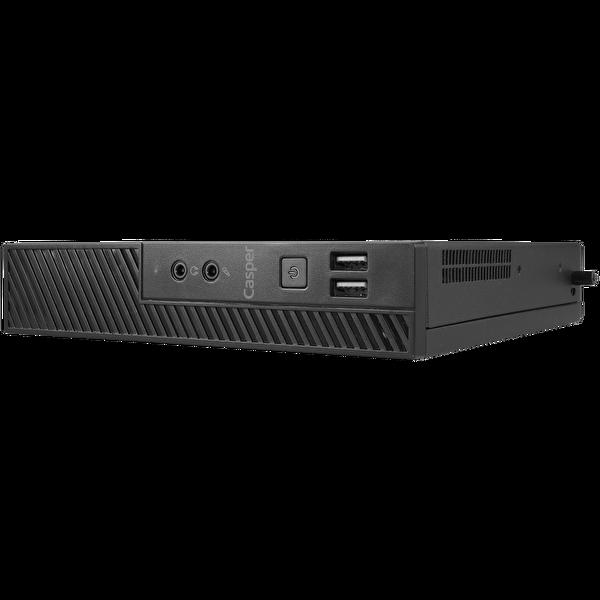 Casper Nirvana M300 Intel Core Pentium G6400 4 GB RAM 240 GB M.2 SSD  Win 10 Pro Siyah MiniPc