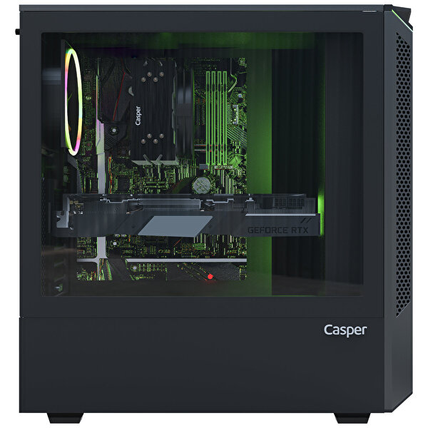Casper Excalibur E600 Intel Core i7-10700F 16 GB RAM 1TB HDD +240 SSD 8GB RX570 Win 10 Home Siyah Desktop