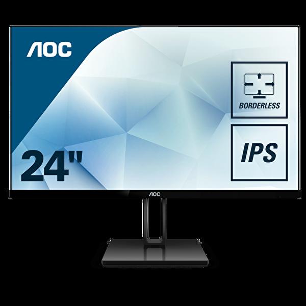 """AOC LED 23.8"""" 24V2Q HDMI DP IPS 5MS 75HZ ( OUTLET )"""