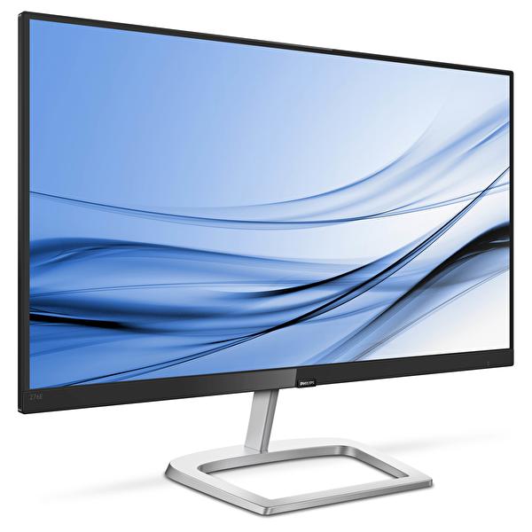 """Philips 276E9QDSB 27"""" IPS 75 Hz 1920 x 1080 5ms 250 cd/m² VGA-DVI-HDMI Siyah-Gümüş Monitör"""