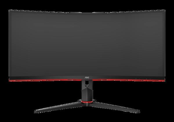 AOC 34 CU34G2/BK 100Hz 1ms WQHDD FreeSync HDMI DP Va Pivot Oyuncu Monitörü