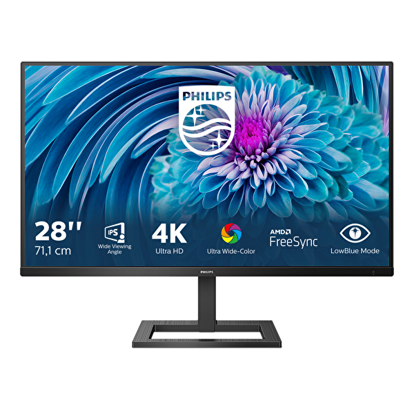 "Philips 288E2A 28"" 4K UHD FreeSync DP HDMI MM IPS Monitör"