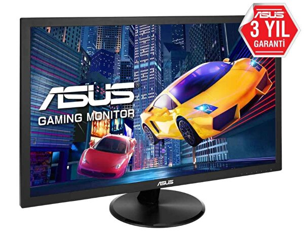 Asus Vp248h 24 Gaming Led Freesync 1920X1080 1MS 75HZ Hdmı Vga Mm Vesa 3 Yıl Eyecare Flıcker-Free Düşük Mavi Işık