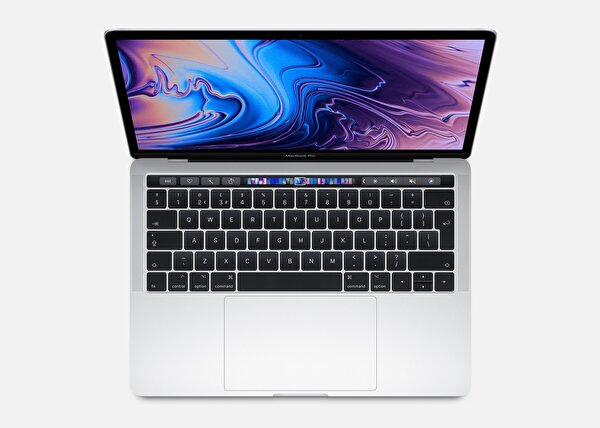Apple 13-inch MacBook Pro with Touch Bar: MV992TU/A 2.4GHz quad-core 8th-generation Intel Core i5 processor, 256GB - Silver