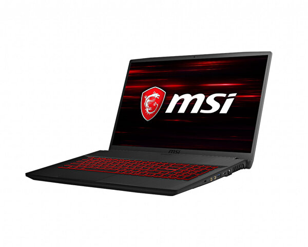 MSI GF75 THIN 8RD-203TR I7-8750H 16GB DDR4 GTX1050TI GDDR5 4GB 512GB SSD 17.3 FHD W10 GAMING NOTEBOOK ( OUTLET )
