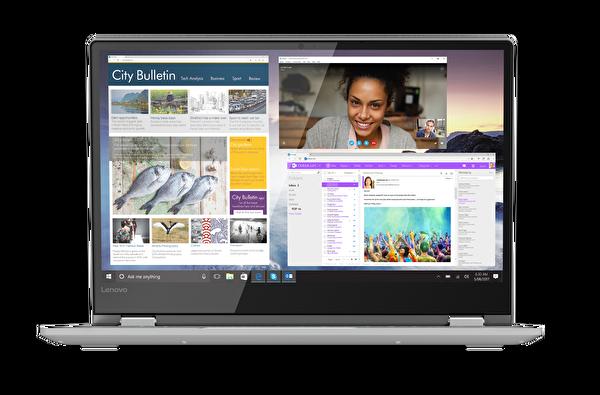 "Lenovo Yoga 530 81EK018MTX  Intel Core I3 7020U  4 GB DDR4 Ram 128 GB SSD HD Graphics 620 14"" Notebook ( OUTLET )"