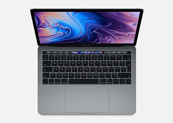 Apple MUHN2TU/A 13-inch MacBook Pro with Touch Bar: 1.4GHz Quad-core 8.nesil Intel Core i5 İşlemci, 128GB - Space Grey