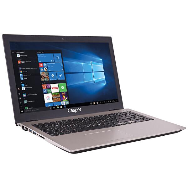 "Casper F650.8550-8D55P-G-F Intel Core i7-8550U 1.8GHz 8GB 240GB SSD GeForce MX130 2GB GDDR5 15.6"" Notebook"