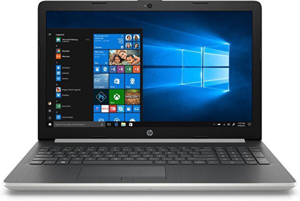 """HP 15-DA2049NT Intel I3-10110U 4GB Ram 256GB SSD 15.6"""" W10 Home Gümüş Notebook ( TESHIR )"""