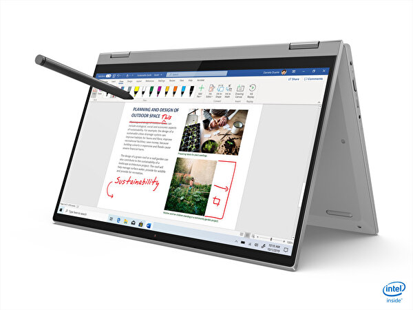 "LENOVO Ideapad Flex 5 82HS0069TX Intel Core i5-1135G7 16GB Ram 512GB SSD MX450 2GB 14"" FHD Dokunmatik  W10 İkisi bir Arada"