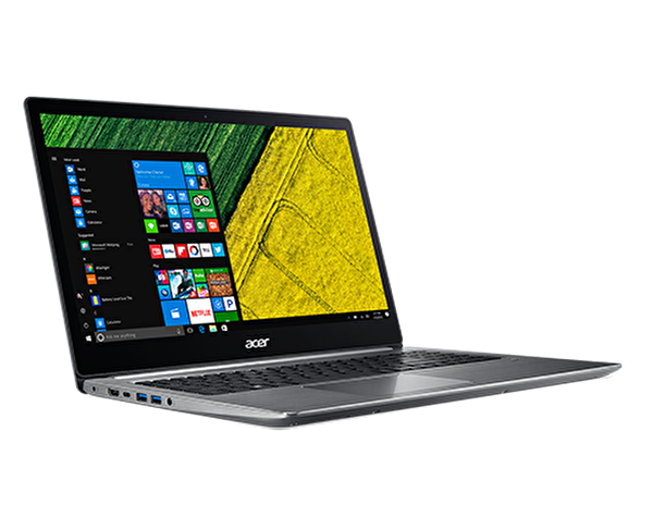 "Acer Swift 3 SF315-41G AMD RYZEN5-2500 /4GB Ram/256 GB SSD / RX540X 2GB Ekran karti /15"" FHD Ekran /Windows 10 Home Edition isletim sistemi"