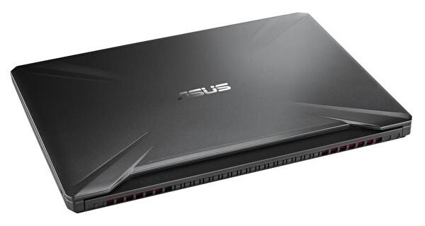 """Asus TUF Gaming FX505DT-BQ028T AMD R7-3750H 8GB 1TB + 256GB PCIE SSD 4GB GTX1650 15.6"""" FHD W10 Notebook"""