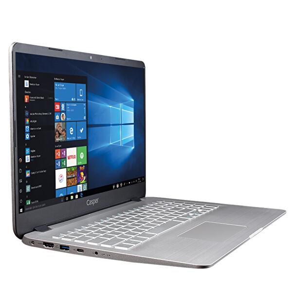 """Casper Nirvana S500 Intel Core i5-1021 4 GB RAM 240 GB SSD 2GB-MX230 15.6"""" Win 10 Home Notebook"""