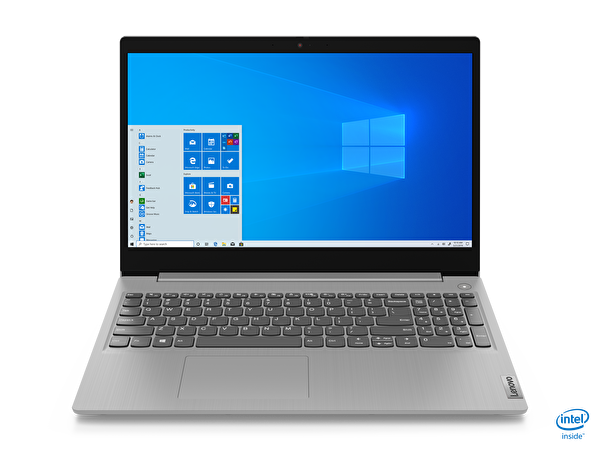 "LENOVO IdeaPad 3 81WE008ETX Intel Core i3-1005G1 4 GB 128 GB SSD Integrated Intel UHD Graphics 15,6"" HD W10 Platin Gri Notebook ( OUTLET )"