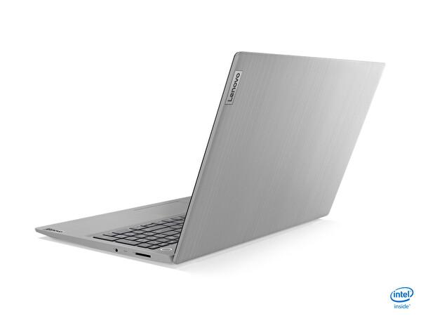 "Lenovo IdeaPad 3 81WE008ETX Intel Core i31005G1 4GB 128GB SSD Integrated Intel UHD Graphics 15.6"" HD W10 Notebook Platin Gri"