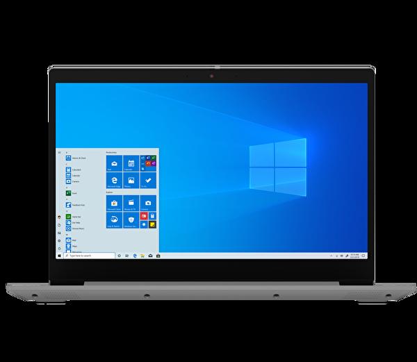 "Lenovo IdeaPad 3 81WE008ETX Intel Core i3-1005G1 4GB 128GB SSD Integrated Intel UHD Graphics 15.6"" HD Platin Gri W10 Notebook"