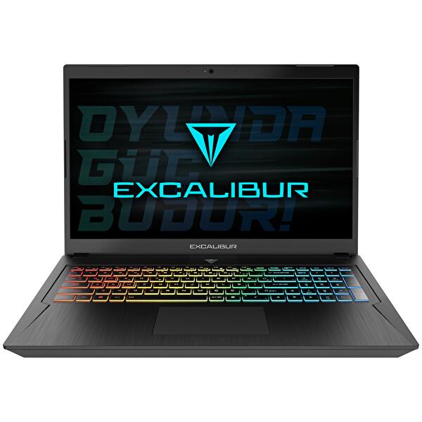 Casper Excalibur G780 Intel 10.Nesil i5-10300H 12 GB RAM 1TB HDD 240 GB SSD 4GB GTX1650Tİ 17'' W10 Home Siyah Gaming Notebook