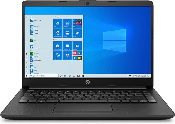 """HP 14-CF2011NT N4020  Intel Celeron 4GB 128 SSD IHD 14"""" Win10 1Z9Y7EA Siyah Notebook"""