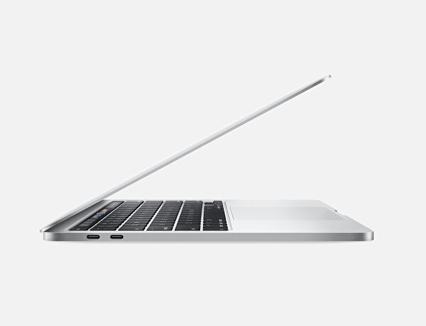 Apple 13-inch MacBook Pro with Touch Bar: 2.0GHz quad-core 10th-generation Intel Core i5 processor, 512GB - Silver MWP72TU/A