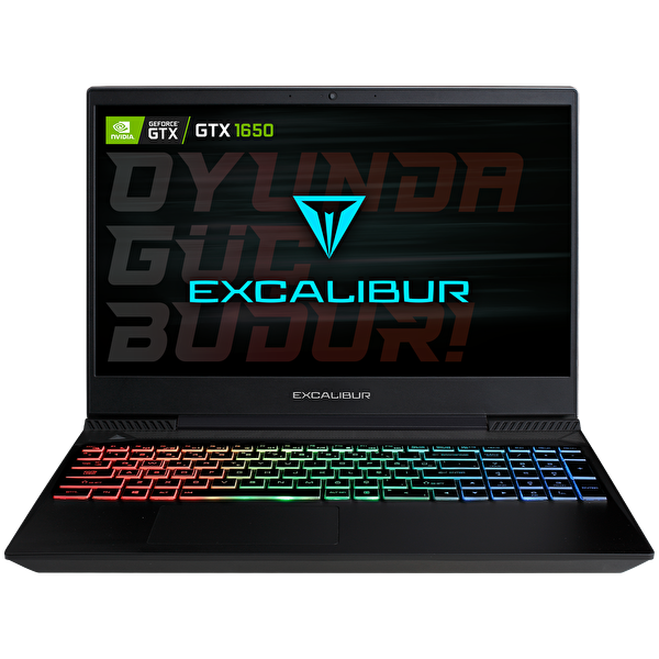 "Casper Excalibur G770 Intel 10.Nesil i7-1075 16GB RAM 1TB HDD 4GB GTX1650 15.6"" Win 10 Home Gaming Notebook"