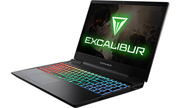 "Casper Excalibur G770 Intel 10.Nesil i7-1075 8GB RAM 500GB NVMe SSD 4GB GTX1650 15.6"" Win 10 Pro Gaming Notebook"
