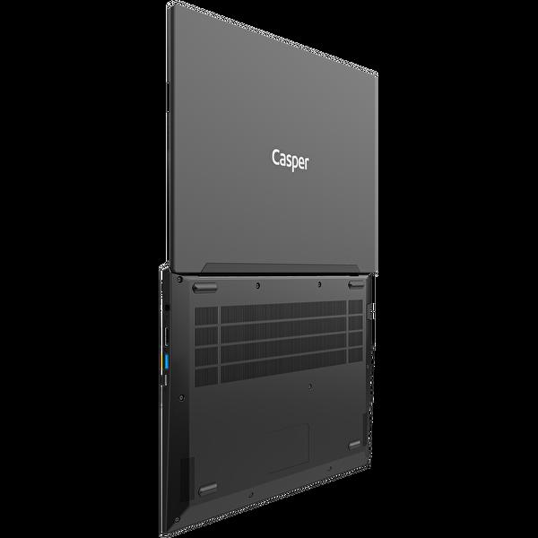 """Casper Nirvana X400 Intel Core 10. Nesil i5-1021 8 GB RAM 240 M2 SSD 14"""" Full HD Siyah W10 Notebook"""