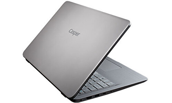 "Casper Nirvana S500 Intel Core 10. Nesil i7-1051 8 GB RAM 480 GB SSD 2GB-MX130/230 15.6"" Gri W10 Notebook"