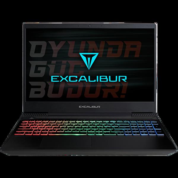 "Casper Excalibur G770 Intel Core 10.Nesil i7-1075 16GB RAM 512GB SSD 4GB GTX1650Tİ 15.6"" Siyah W10 Notebook"