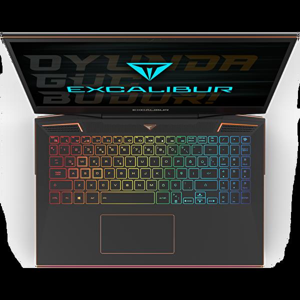 Casper Excalibur G900.1075-D680A Intel Core 10.Nesil i7-10750H 32 GB RAM 1TB HDD + 500 GB NVMe SSD 8GB RTX2070 SUPER 15.6'' Notebook Siyah