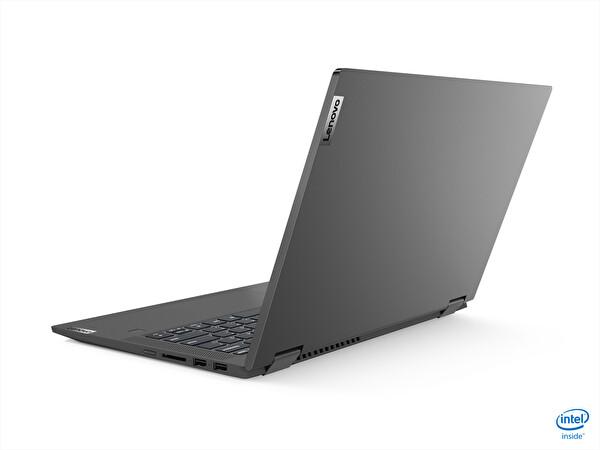 """Lenovo IdeaPad Flex 5 81X1008HTX Intel Core i3-1005G1 4GB 128GB SSD Dahili Intel UHD Grafik Kartı 14"""" FHD W10 Grafit Gri Notebook"""