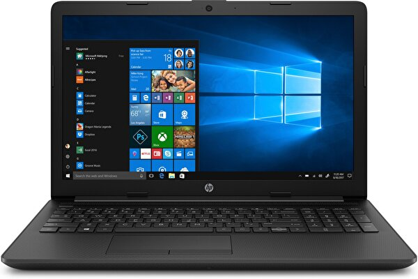 "HP 15-DB1036NT 7DX21EA Ryzen 3 3200U 2.6GHz 4GB Ram 256GB SSD 15.6"" W10 Siyah Notebook ( TESHIR )"
