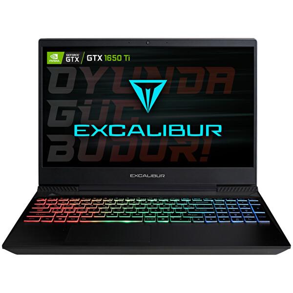 Casper Excalibur G770 Intel 10.Nesil i7-1075H 8 GB RAM 1 TB HDD + 240 GB SSD 4GB GTX1650Tİ 15.6'' Siyah Win 10 Home Gaming Notebook