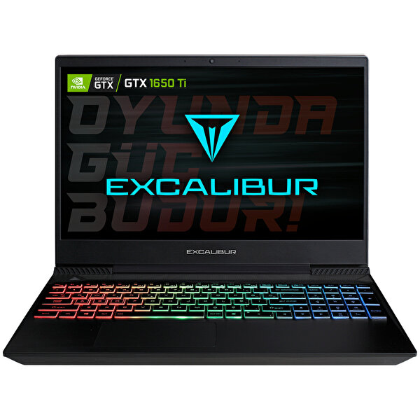 Casper Excalibur G770 Intel 10.Nesil i7-1075H 16 GB RAM 1TB HDD + 120 GB SSD 4GB GTX1650Tİ 15.6'' Siyah Win 10 Home Gaming Notebook
