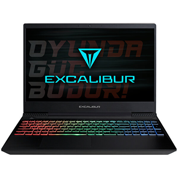 Casper Excalibur G770 Intel 10.Nesil i7-1075H 32 GB RAM 1TB HDD + 120 GB SSD 4GB GTX1650Tİ 15.6'' Siyah Win 10 Home Gaming Notebook