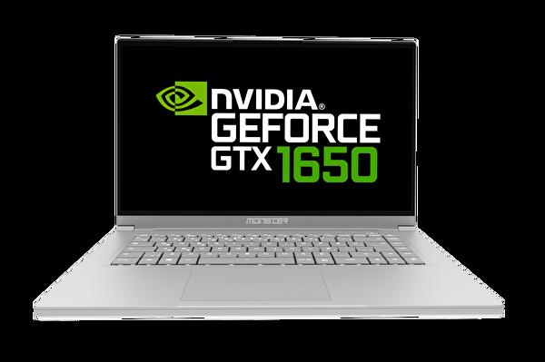 "Monster Huma H5 V2.1.1 Intel Core i7-10750H"" 16 GB DDR4 Ram 512GB SSD 4GB GDDR6 Nvidia GTX1650  15.6'' Gri Notebook"