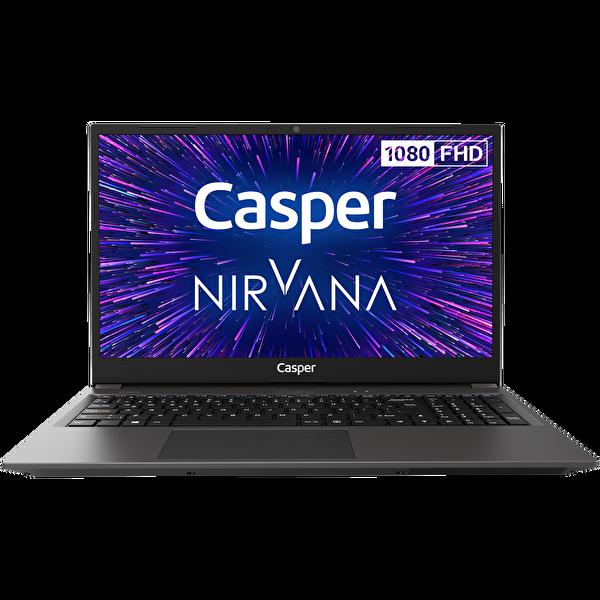 "Casper Nirvana X500 Intel Core i5-1035G1 16 GB RAM 500 NVME SSD  15.6"" Win 10 Pro Notebook Siyah"