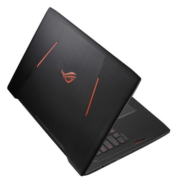 """ASUS GL702ZC-GC006T AMD RYZEN 7 1700  / 8 GB / 1 TB / 256 GB SSD / 4 GB  AMD Radeon RX 580 / 17.3"""" / Win10 GAMING NOTEBOOK ( OUTLET )"""