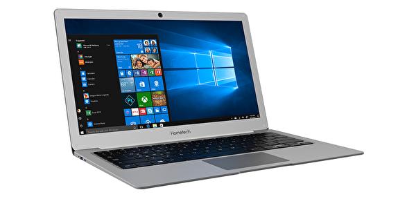 """Hometech Alfa 400C-14S Intel® Celeron N3350 2.4Ghz 3GB 32GB+500GB HDD Intel HD 500 14"""" Gri Notebook"""