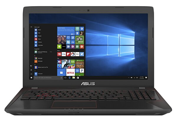 """ASUS FX553VE-DM407T i5-7300HQ/8 GB DDR4/1 TB/4 GB NVIDIA GeForce GTX 1050 Ti/15.6""""/W10 NOTEBOOK ( OUTLET )"""