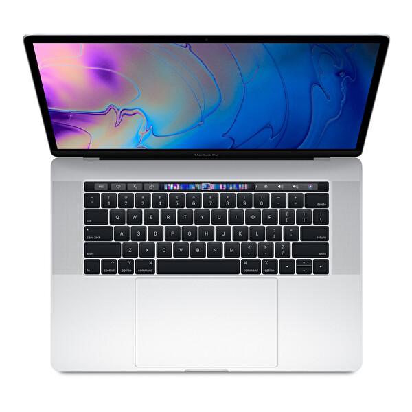 "Apple MacBook Pro MR972TU/A Intel® Core i7 2.6Ghz 16GB 512GB 15"" Touch Bar Silver Notebook"