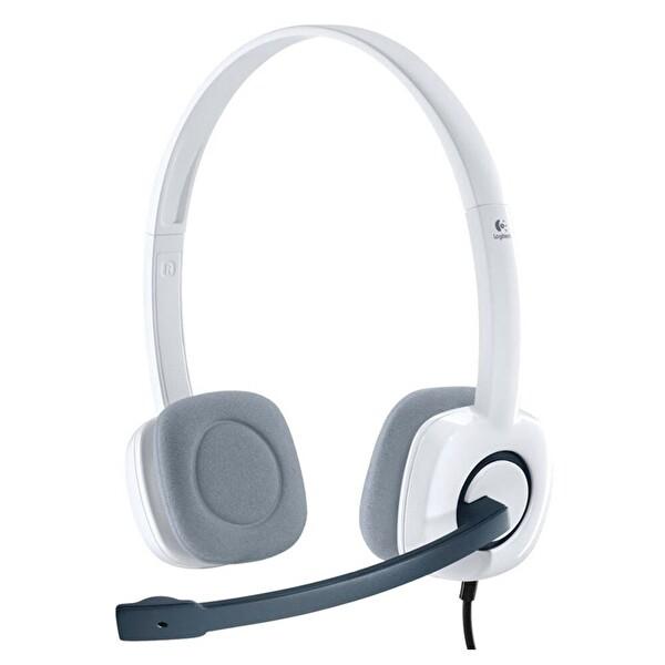 Logitech H150 Mikrofonlu Beyaz Kulak Üstü Kulaklık