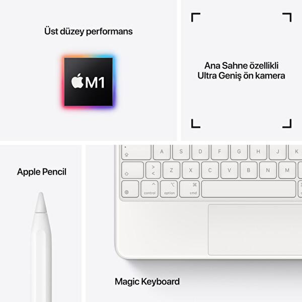 """Apple iPad Pro MHQW3TU/A Wi-Fi 512GB 11"""" Uzay Grisi Tablet"""