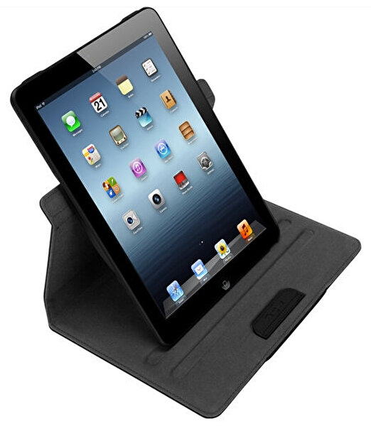 Targus Thz196 Versavu 360º Dönebilen Siyah iPad Air Kılıfı