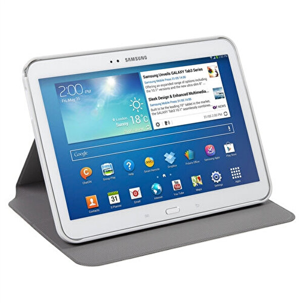 "Targus THZ45205 Evervu Samsung Tab4 10.1"" Kılıf"