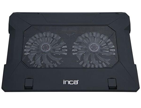 Inca Inc-321 Ergonomik Çift Fanlı Sessiz Notebook Soğutucu (Siyah)