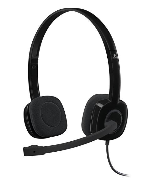 Logitech H151 Mikrofonlu Siyah Kulak Üstü Kulaklık