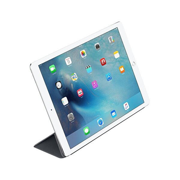 """Apple MK0L2ZM/A For 12.9"""" iPad Pro Smart Cover - Kömür Grisi"""
